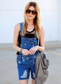 джинсовые комбинезоны 2015 5