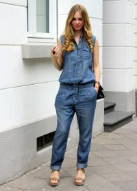 джинсовые комбинезоны 2015 8