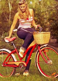 фотосессия с велосипедом 1
