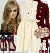 С чем носить кружевные платья