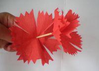 гвоздика из гофрированной бумаги15