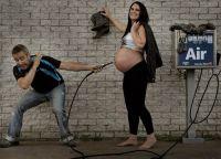 идеи фотосессии для беременных 9
