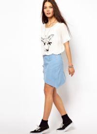Модели юбок для подростков 3