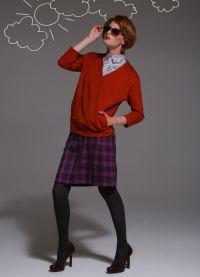 Модели юбок для подростков 8