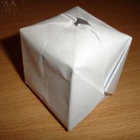 как сделать из бумаги бомбочку