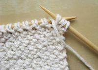 Узор плетенка спицами 16