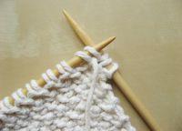 Узор плетенка спицами 17