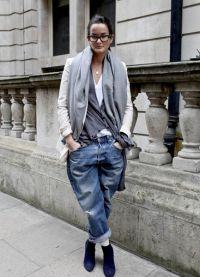 как должны сидеть джинсы бойфренды2