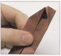 как из бумаги сделать тетраэдр7