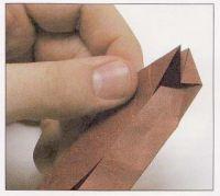 как из бумаги сделать тетраэдр8