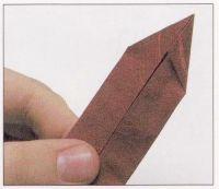 как из бумаги сделать тетраэдр9