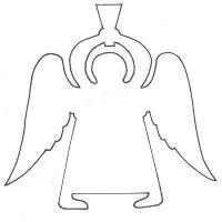 как сделать ангела из бумаги3