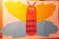 как сделать бабочку из бумаги 3