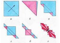 как сделать бабочку из бумаги 5