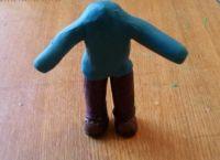 как сделать человека из пластилина 22