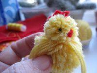 как сделать цыпленка своими руками 13