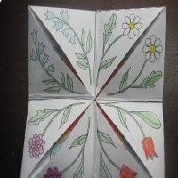 как сделать гадалку из бумаги16