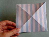 как сделать из двусторонней бумаги вертушку 21