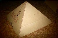 как сделать пирамиду из картона7
