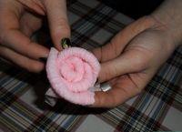 как сделать розу из салфетки12