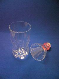 как сделать вазу из пластиковой бутылки2