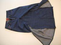 как сшить юбку из джинсов16