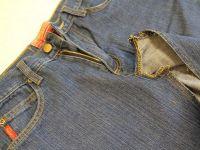 как сшить юбку из джинсов4