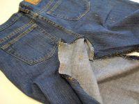 как сшить юбку из джинсов5