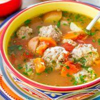 как варить рисовый суп с фрикадельками