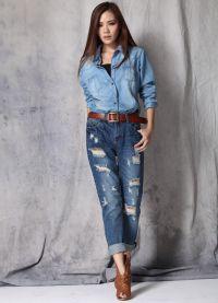Как выбрать джинсы по типу фигуры8