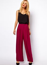 какой длины должны быть брюки у женщины1