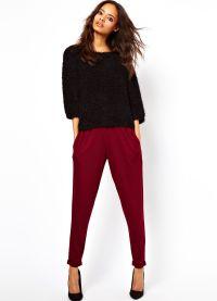 какой длины должны быть брюки у женщины4