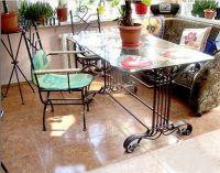 кованая мебель для кухни2