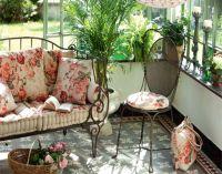 кованая мебель в стиле прованс1
