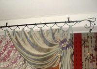 Кованый карниз для штор