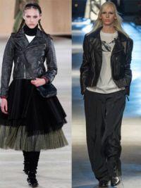 Кожаные куртки 2015 9