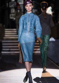 кожаные юбки фасоны 2015 2