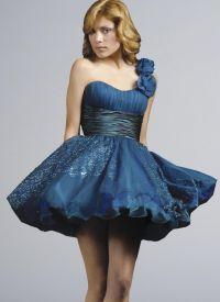 красивые платья на выпускной короткие 4