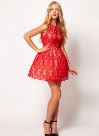 красивые платья на выпускной короткие 5