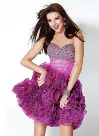 красивые платья на выпускной короткие 6