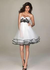красивые платья на выпускной короткие 9