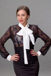 Кружевная блузка 1
