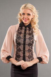 Кружевные блузки, фото