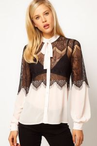 Кружевная блузка 4