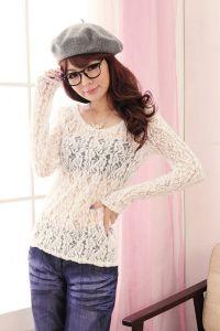 Кружевная блузка 8