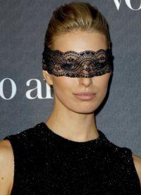 кружевная маска на глаза1