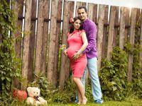 Фотосессия беременных на природе летом 13
