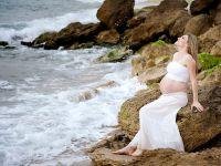 Фотосессия беременных на природе летом 6