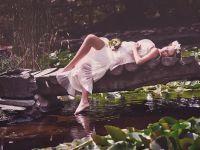 Фотосессия беременных на природе летом 8