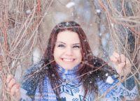 фотосессия на улице зимой позы 10
